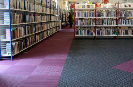Wester Hailes Library Edinburgh Strands Carpet Tiles 08